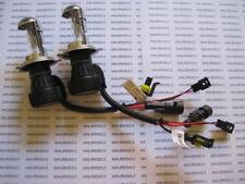 H4 6000k 55w COPPIA 2 LAMPADE BI XENO BIXENO BULBI RICAMBIO 6000 F5B5