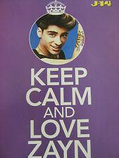 Zayn Malik, One Direction, Austin Mahone, Double Full Page Pinup