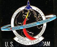 NASA STS-114 Space Shuttle FLIGHT TEAM PIN Shuttle Columbia Return to Flight