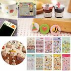 Kids DIY Gift 3D Puffy Calendar Diary Book Sticker Scrapbook Phone Decoration