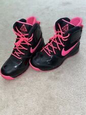 Pink and Black Nike Hightop Shoes Boys Size 4y