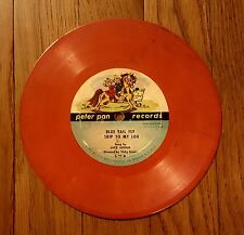7 inch 78rpm Peter Pan Records L20 L26 Skip To My Lou Clementine Stand Up Jesus
