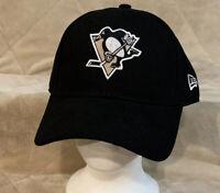 Pittsburgh Penguins New Era Adult OSFA Black Strapback Hat Cap NHL Pennsylvania