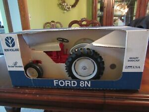 SCALE MODELS 1/8 SCALE DIE CAST FORD 8N TRACTOR - NIB - NEVER DISPLAYED
