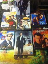 JAMES BOND Collection 7 X DVDs BUNDLE