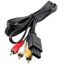 Audio Video Cable AV Lead For Nintendo N64 NGC Gamecube