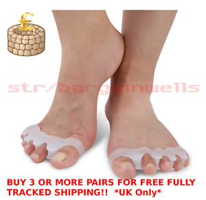 Toe Separator Stretcher Spreader Spacer Align Corrector for Bunions Hammer Toes