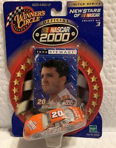 #20 - TONY STEWART - HOME DEPOT PONTIAC - WC2000 - NEW STARS OF NASCAR - 1:64