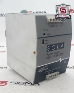 Emerson SDN 10-24-100P SOLA Power Supply