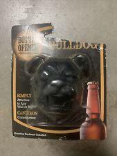 Wall/Bar Mount Bulldog Bottle Opener -NIP