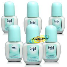 6x Fenjal Care & Protect Creme Deodorant Roll-on 50ml