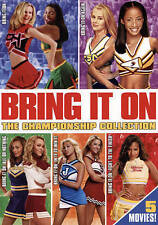 BRING IT ON 1-5 COMPLETE 5 FILM SERIES COLLECTION 3 DVD DISC BOX SET DUNST-GAGA