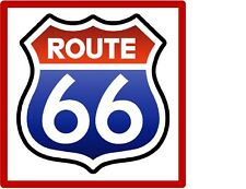 Historic Route 66 Refrigerator / Tool Box  Magnet