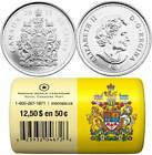 2013 Canada 50 Cents - BU ROLL 25 Coins Special Wrap - E827