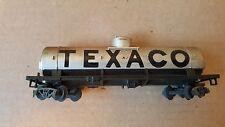 Tyco Texaco single dome tank car (no handrail)