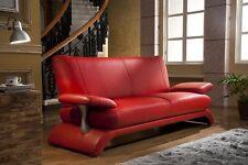 Designer Couches Ledersofa Leder-Sofa-3 Sitzer Couch neu 5005-3-8401