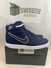 Nike Vandal High Supreme Canvas QS Navy Obsidian 318330 402 Mens 10