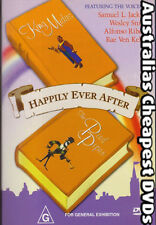 Happily Ever After DVD NEW,  FREE POSTAGE  WITHIN AUSTRALIA REGION 4