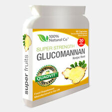 Glucomannan Konjac Root  - Super Strength - EU Authorised Weight Loss Pills