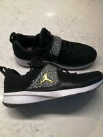 SHOES SCARPE NIKE JORDAN TRAINER 2 FLYKNIT NERE SNEAKERS EUR 41 UK 7