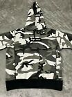 Supreme 2013 FW Box Logo Snow Camo Pullover Hoodie Size Large (Pre-Owned)