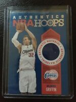 blake griffin authentic material NBA HOOPS jersey card 2013-14 No.3 clippers