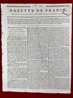 Bonaparte et Georges Washington USA 1799 Baie de Quiberon Chouans Lorient Nantes