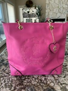 NEW Pink Juicy Couture Purse Bag Handbag