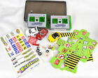 Lot of Tomy MicroSizer R/C Cars Transmitters Parts Stickers Direction Sheet