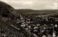 Klingenberg am Main Ansichtskarte 1964 gelaufen Gesamtansicht Weinberge Wald