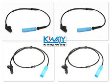 NEW ABS WHEEL SPEED SENSOR FRONT REAR LEFT RIGHT FOR BMW 1998-2001 E38 4pcs