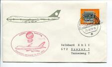 FFC 1973 Lufthansa PRIMO VOLO Jumbo Blitz TIP - Francoforte