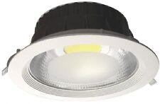 LAMPADA PLAFFONIERA LED INCASSO 30W 6000K 230V 140° D:195MM 225X85MM 2300LM IP20