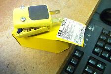 nib hubbell hbl5576ey ergo grip plug 2 pole 20 amp