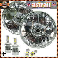 Pair astrali® P700 Tripod Classic Car H4 Halogen LED Headlamps Headlights