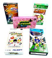 Lot de 5 jeux Nintendo Super Famicom en boite Super Nintendo SNES Import JAPON