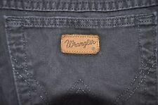 Vintage black Wrangler Ohio jeans W 34 L 34 loose fit zip fly