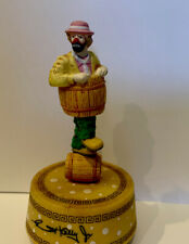 Emmett Kelly Jr. - Balancing Barrels - Music Box
