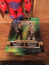 Star Wars PotF Max Rebo Band Pairs - Barquin D'An & Droopy McCool Kenner '98 NIP