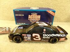 New 1995 Action 1:24 Diecast Nascar Dale Earnhardt Sr Goodwrench & Skybox Card
