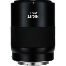 New ZEISS Touit 50mm f/2.8M Macro Lens (Sony E-Mount APS-C) Made in Japan