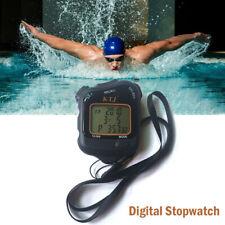 Stoppuhr Stopp Uhr Stopuhr Digital Sport Timer Uhren Taschenuhr Schwarz
