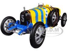 Bugatti T35 #5 цвет национального проекта Швеция Ltd Ed 1/18 модель от CMC 100B011