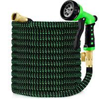 50/75/100/150FT Garden Hose Expandable Lightweight Heavy Duty Flexi Water Hose