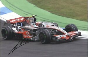 Heikki Kovalainen - Finnish F1 Racing Driver - In Person Signed Photograph.