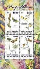 Timbres Flore Papillons Burundi ** année 2011 lot 14696