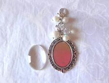 Wedding Memorial Memory Photo Frame Charm for Bridal Bouquet - Single or Double