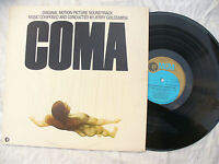 COMA LP COMA SOUNDTRACK JERRY GOLDSMITH mgm 2315398 stunning  N/M   33 rpm / POP