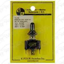 13-103 Triple Sealed (ON)-OFF-(ON) Toggle Switch 20 Amp Race Car Nascar Hot Rod