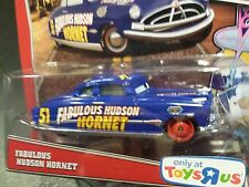 DISNEY PIXAR CARS FABULOUS HUDSON HORNET 2013 or 2014 RSC TOYS R US SAVE 5%